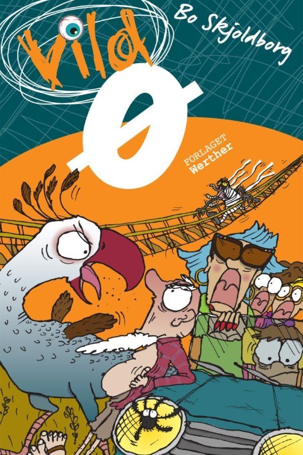 Vild ø_Bo Skjoldborg_sjove_børnebøger_vild-bøgerne_action_krimi_humor_spænding_børnebog
