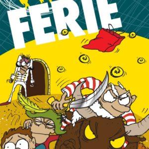 Vild ferie_Bo Skjoldborg_sjove_børnebøger_vild-bøgerne_action_krimi_humor_spænding_børnebog